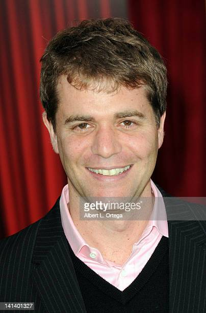 Writer Nick Stoller arrives for 'The Muppet' Los Angeles Premiere held at the El Capitan Theatre on November 12 2011 in Hollywood California