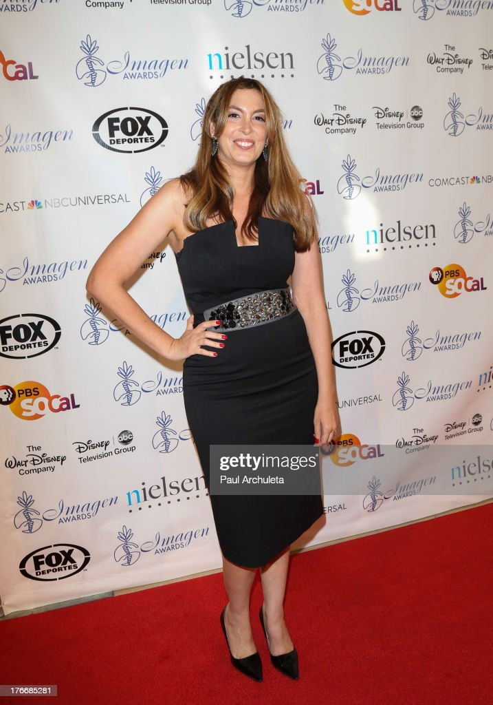 Writer Nina Weinman attends the 28th annual Imagen Awards at The Beverly Hilton Hotel on August 16, 2013 in Beverly Hills, California.