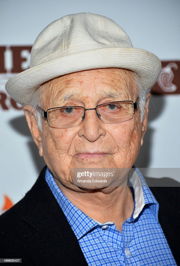 Writer <a gi-track='captionPersonalityLinkClicked' href=/galleries/search?phrase=Norman+Lear&family=editorial&specificpeople=206632 ng-click='$event.stopPropagation()'>Norman Lear</a> arrives at the Chipotle World Premiere of web series 'Farmed And Dangerous' at the DGA Theater on February 11, 2014 in Los Angeles, California.
