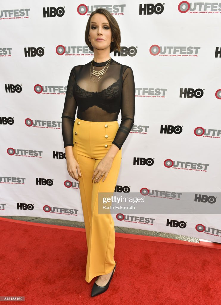 Writer Our Lady J attends the 2017 Outfest Los Angeles LGBT Film Festival screening of Amazon's 'Transparent' Season 4 at Director's Guild Of America on July 15, 2017 in West Hollywood, California.