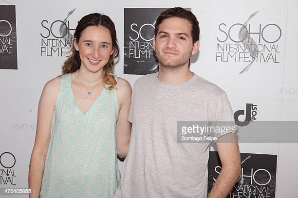 Writer Parker Hill and director Evan Ari Kelman attend SOHO International Film Festival 2015 at Village East Cinema on May 14 2015 in New York City