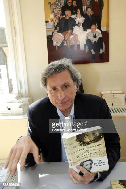 Writer Patrick de Carolis attends Tribute To JeanClaude Brialy during 'Journees Nationales du Livre et du Vin'on May 14 2017 in Saumur France
