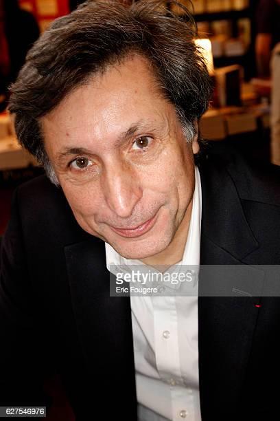 Writer Patrick De Carolis photographed in Paris