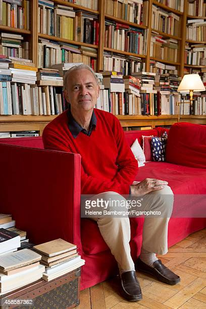 Writer Patrick Modiano is photographed for Le Figaro Magazine on September 14 2012 in Paris France PUBLISHED IMAGE CREDIT MUST READ Helene...