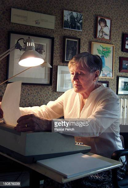 Writer Paula Fox is photographed for Liberation on June 1 2011 in New York City