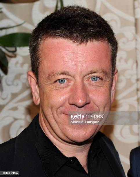 Writer Peter Morgan arrives at the Los Angeles premiere of HBO Films' 'The Special Relationship' at the DGA Theater on May 19 2010 in Los Angeles...