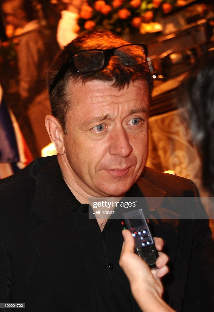 Writer Peter Morgan attends the HBO premiere of 'The Special Relationship' after party held at Directors Guild Of America on May 19, 2010 in Los Angeles, California..