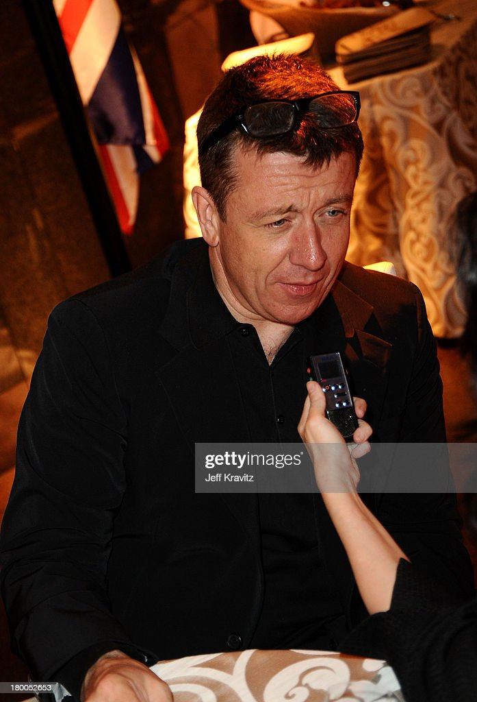 Writer Peter Morgan attends the HBO premiere of The Special Relationship after party held at Directors Guild Of America on May 19, 2010 in Los Angeles, California..