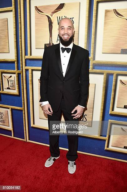 Writer Peter Saji attends the 2016 Writers Guild Awards at the Hyatt Regency Century Plaza on February 13 2016 in Los Angeles California