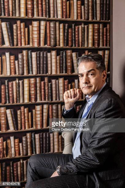 Writer Philip Kerr is photographed for Paris Match on March 25 2017 in Paris France
