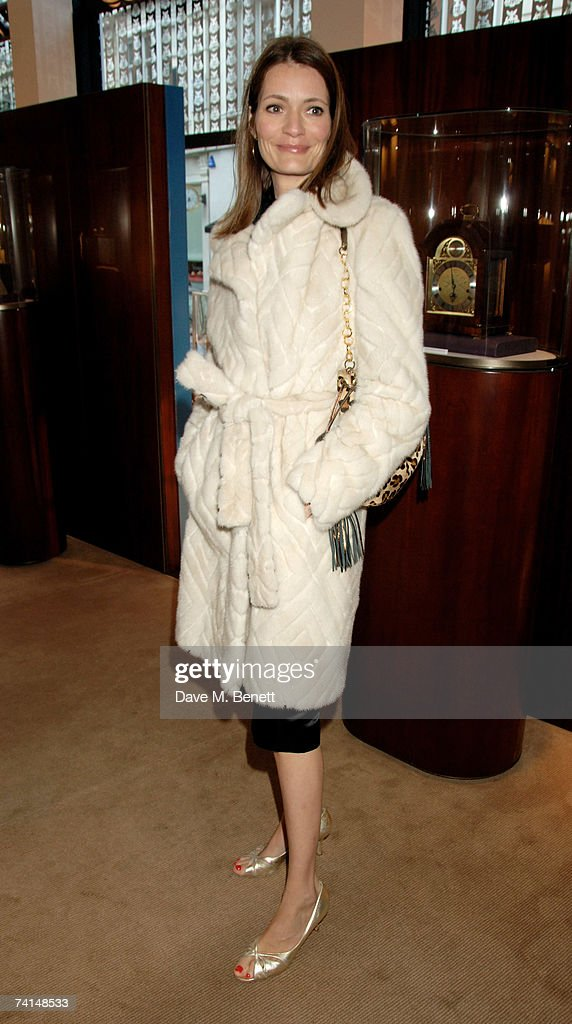 Writer Plum Sykes attends the book launch party of The Young Stalin: The Adventurous Early Life Of The Dictator 1878-1917 by Simon Sebag Montefiore, at Asprey May 14, 2007 in London, England.