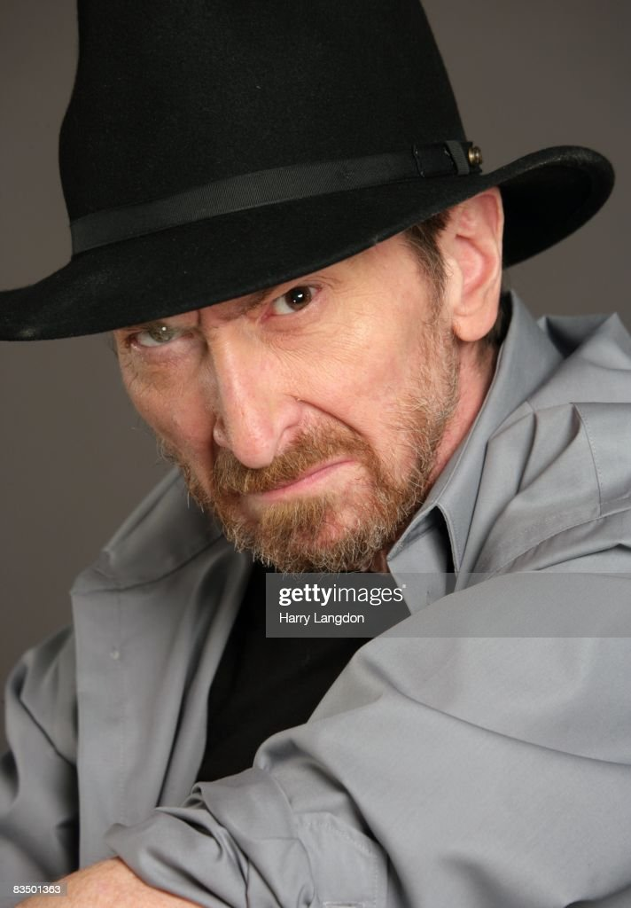 Writer, producer, director and comic book artist Frank Miller poses for a photo session on April 12, 2007 in Los Angeles, California.