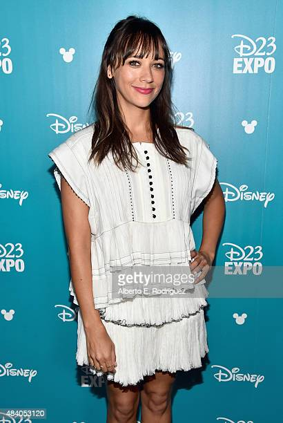 Writer Rashida Jones of TOY STORY 4 took part today in 'Pixar and Walt Disney Animation Studios The Upcoming Films' presentation at Disney's D23 EXPO...