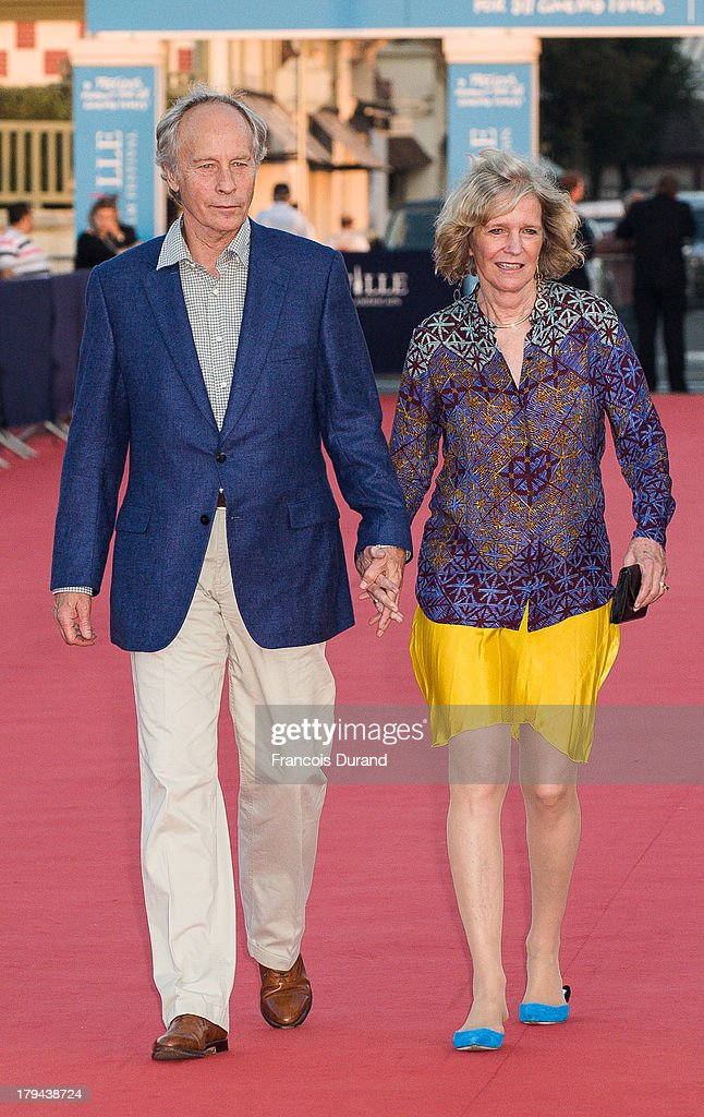 Writer Richard Ford arrives at the premiere of the film 'Very Good Girls' during the 39th Deauville American Film Festival on September 3, 2013 in Deauville, France.