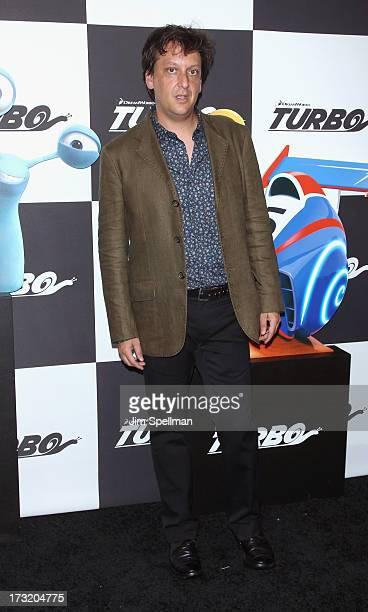 Writer Robert D Siegel attends the 'Turbo' New York Premiere at AMC Loews Lincoln Square on July 9 2013 in New York City