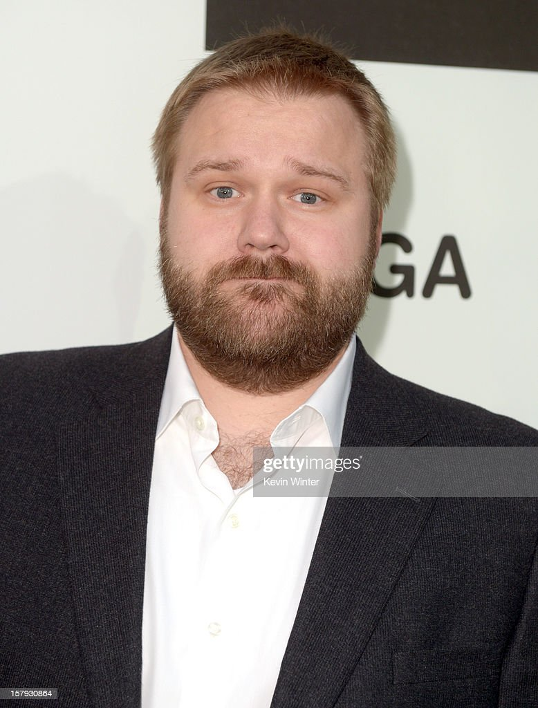 Writer Robert Kirkman arrives at Spike TV's 10th annual Video Game Awards at Sony Pictures Studios on December 7 2012 in Culver City California