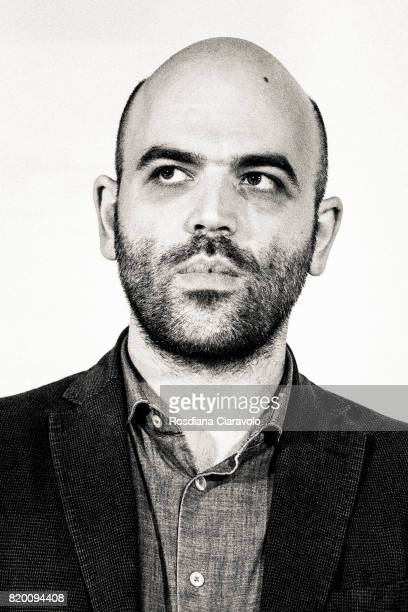 Writer Roberto Saviano attends Campus Party on July 20 2017 in Milan Italy