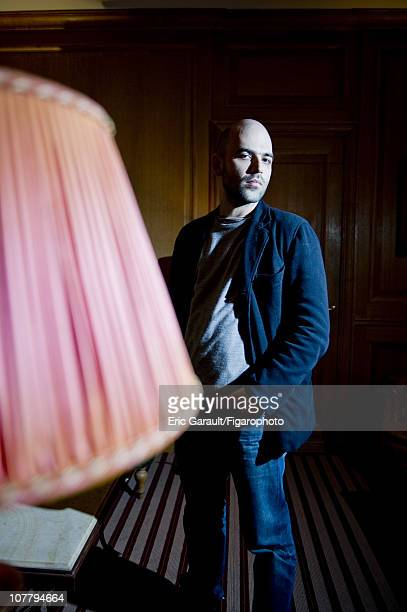 Writer Roberto Saviano poses at a photo shoot for Le Figaro on May 2 2009 in Paris France Published image Figaro ID 084422012 CREDIT MUST READ Eric...