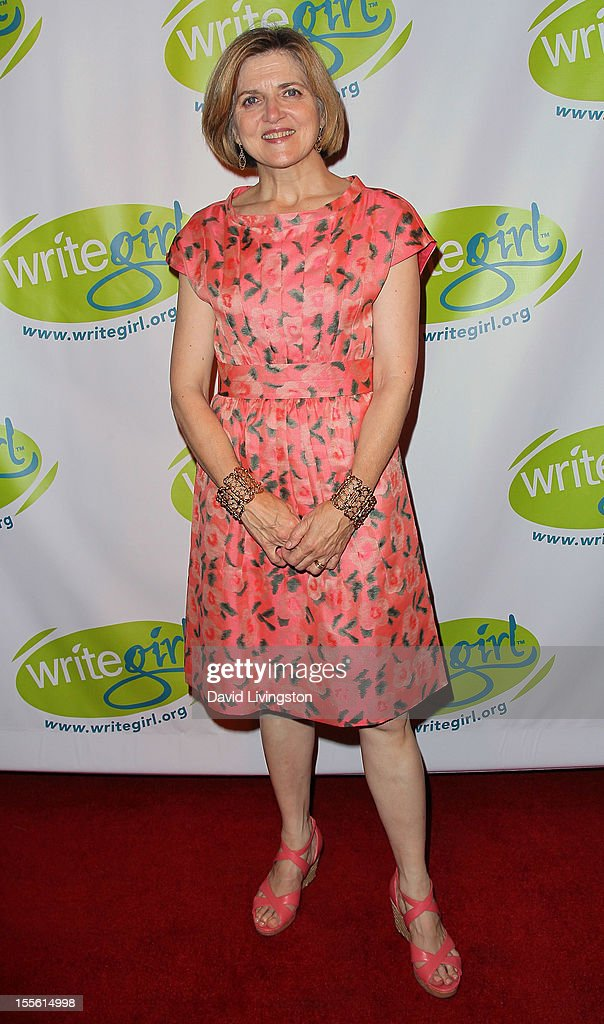 Writer Robin Swicord attends the Bold Ink Awards at the Eli and Edythe Broad Stage on November 5 2012 in Santa Monica California