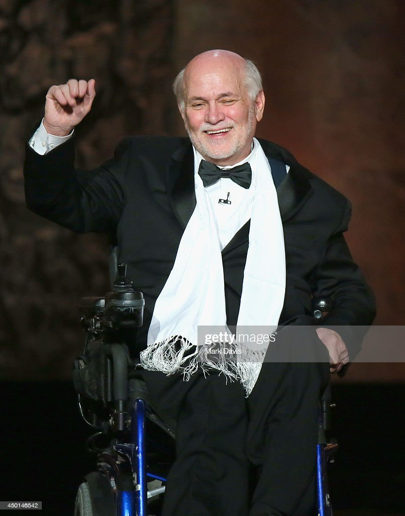 Writer Ron Kovic speaks onstage at the 2014 AFI Life Achievement Award: A Tribute to Jane Fonda at the Dolby Theatre on June 5, 2014 in Hollywood, California. Tribute show airing Saturday, June 14, 2014 at 9pm ET/PT on TNT.