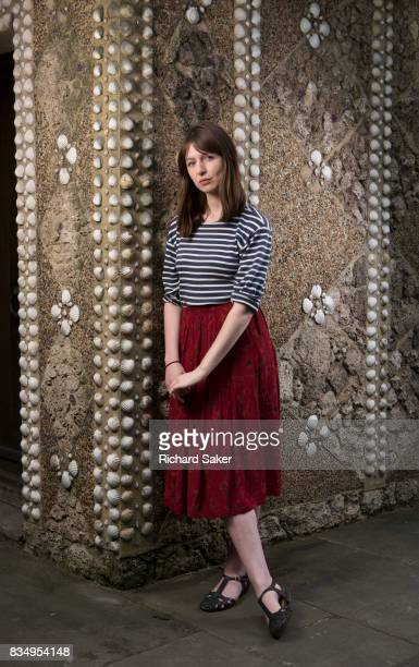 Writer Sally Rooney is photographed for the Guardian on May 23 2017 in London England