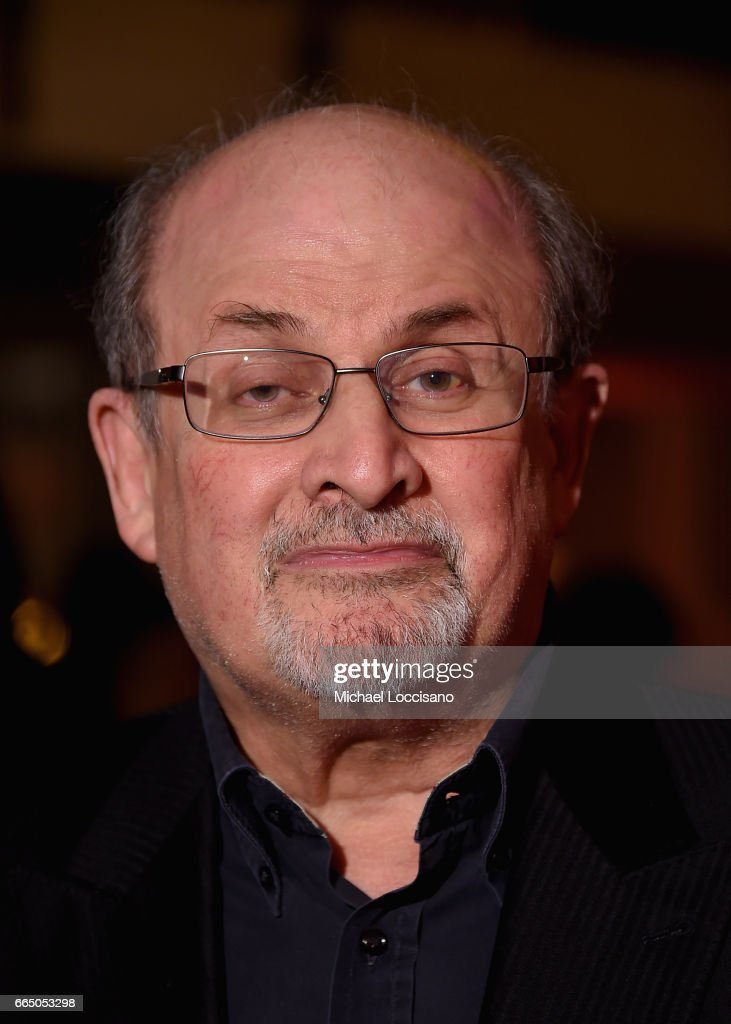 Writer Salman Rushdie attends the Eighth Annual Women In The World Summit at Lincoln Center for the Performing Arts on April 5, 2017 in New York City.
