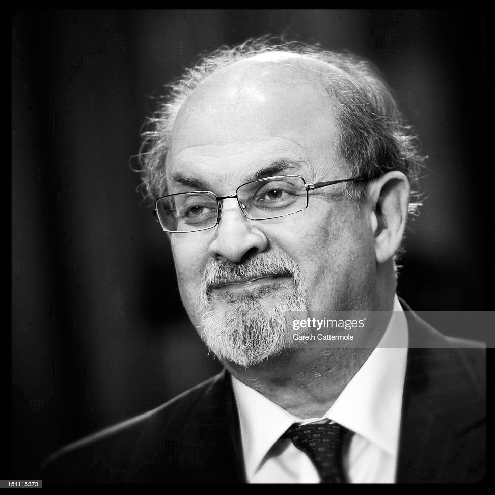 Writer Salman Rushdie attends the premiere of 'Midnight's Children' during the 56th BFI London Film Festival at Odeon West End on October 14 2012 in...