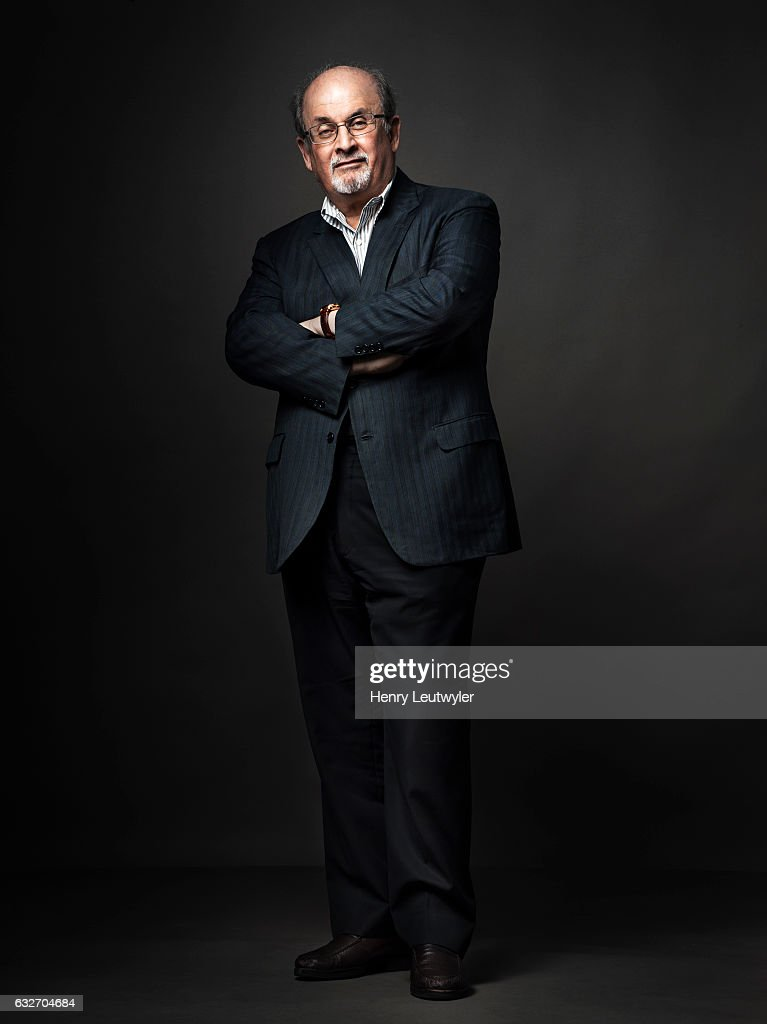 Writer Salman Rushdie is photographed for Telerama on August 8, 2016 in New York City.