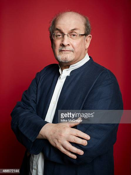 Writer Salman Rushdie is photographed for The Guardian Magazine on July 27 2015 in New York City PUBLISHED IMAGE ON EMBARGO UNTIL OCTOBER 6 2015