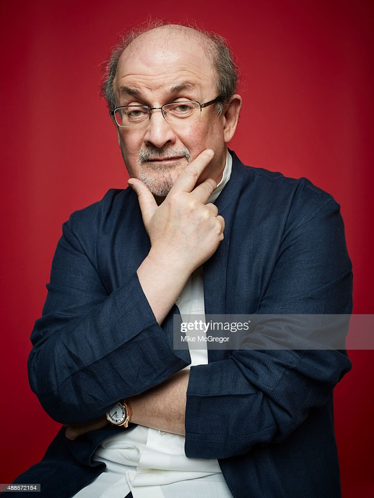 Writer <a gi-track='captionPersonalityLinkClicked' href=/galleries/search?phrase=Salman+Rushdie&family=editorial&specificpeople=203293 ng-click='$event.stopPropagation()'>Salman Rushdie</a> is photographed for The Guardian Magazine on July 27, 2015 in New York City. PUBLISHED