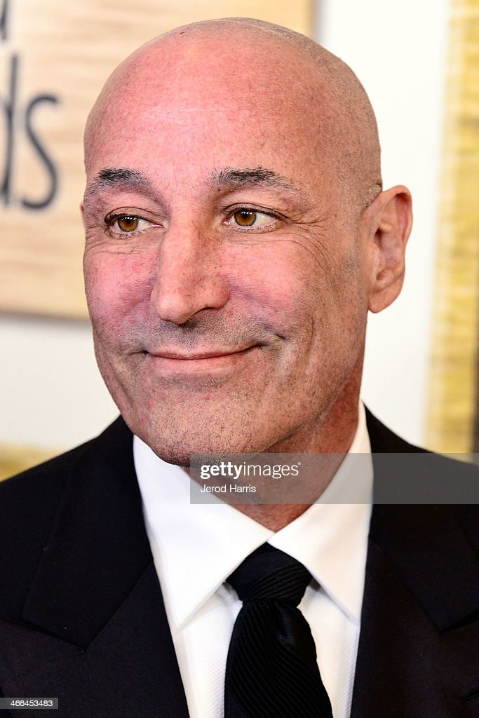Writer <a gi-track='captionPersonalityLinkClicked' href=/galleries/search?phrase=Sam+Simon+-+Producer+and+Philanthropist&family=editorial&specificpeople=11233538 ng-click='$event.stopPropagation()'>Sam Simon</a> arrives at the 2014 Writers Guild Awards L.A. Ceremony at JW Marriott Los Angeles at L.A. LIVE on February 1, 2014 in Los Angeles, California.