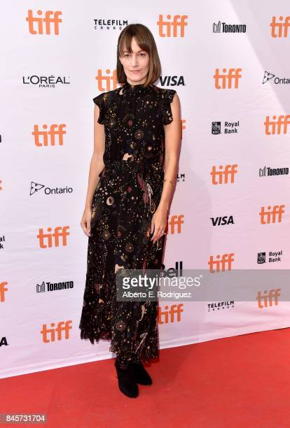 Writer Samantha McIntyre attends the 'Unicorn Store' premiere during the 2017 Toronto International Film Festival at Ryerson Theatre on September 11...