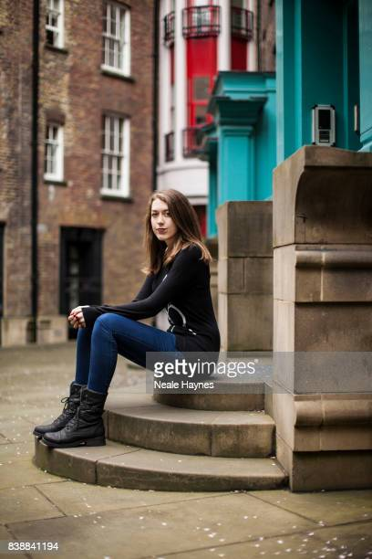 Writer Samantha Shannon is photographed for the Sydney Morning Herald on March 20 2017 in London England