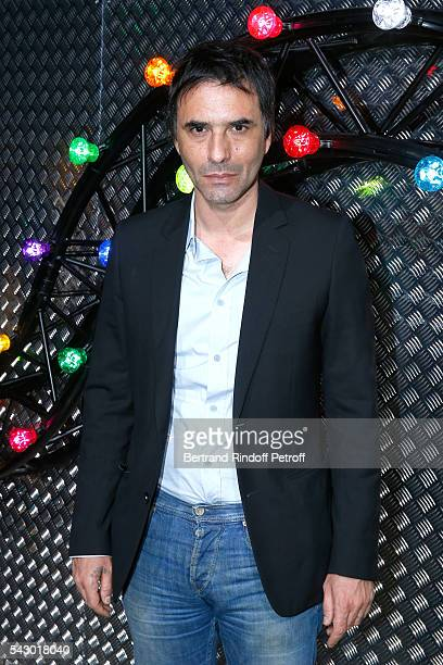 Writer Samuel Benchetrit attends the Dior Homme Menswear Spring/Summer 2017 show as part of Paris Fashion Week on June 25 2016 in Paris France