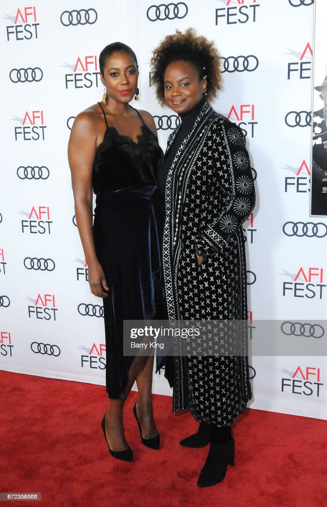 Writer Sarah M. Broom and director/writer Dee Rees attend AFI FEST 2017 Presented by Audi - Opening Night Gala - Screening Of Netflix's 'Mudbound' at TCL Chinese Theatre on November 9, 2017 in Hollywood, California.