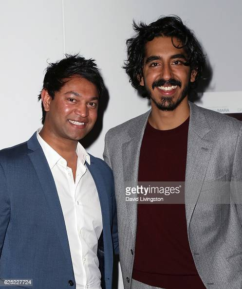 Writer Saroo Brierley and actor Dev Patel attend a Los Angeles special screening of The Weinstein Co's 'Lion' at the Samuel Goldwyn Theater on...