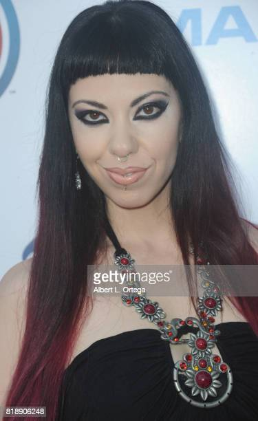 Writer Satine Phoenix attends Stan Lee 95th Birthday House Party held at Private Residence on July 18 2017 in Los Angeles California