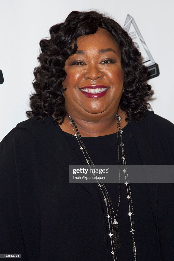 Writer Shonda Rhimes attends The 2012 Media Access Awards on October 10, 2012 in Beverly Hills, California.