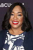 Writer Shonda Rhimes attends the 2015 ABC NY Upfront Presentation at Avery Fisher Hall at Lincoln Center for the Performing Arts on May 12 2015 in...