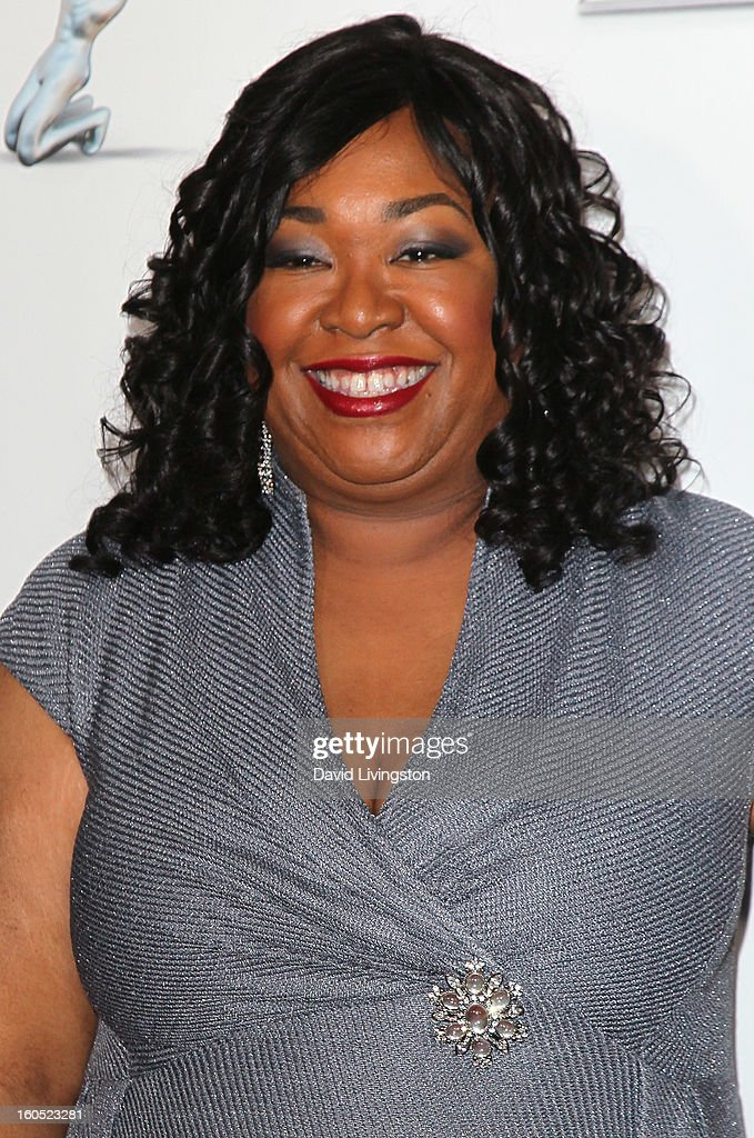 Writer Shonda Rhimes attends the 44th NAACP Image Awards at the Shrine Auditorium on February 1, 2013 in Los Angeles, California.