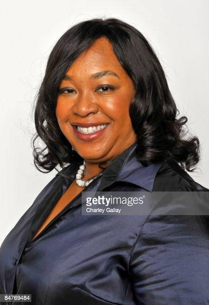 Writer Shonda Rhimes poses for a portrait during the 40th NAACP Image Awards held at the Shrine Auditorium on February 12 2009 in Los Angeles...