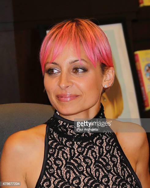 Writer Sophia Rivka Rossi and TV Personality Nicole Richie have a conversation about Sophia Rivka Rossi's new book 'A Tale Of Two Besties' at Barnes...