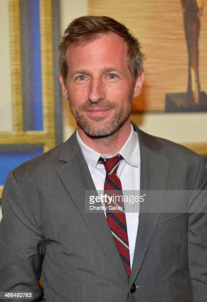Writer Spike Jonze winner of the 'Best Original Screenplay' award for 'Her' poses in the press room at the 2014 Writers Guild Awards LA Ceremony at...