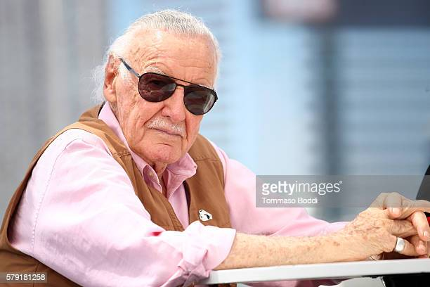 Writer Stan Lee attends the IMDb Yacht at San Diego ComicCon 2016 Day Two at The IMDb Yacht on July 22 2016 in San Diego California