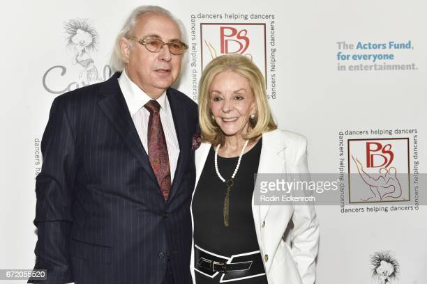Writer Stephen MaitlandLewis and PDS Chair Joni Berry attend the 30th Annual Gypsy Awards Luncheon at The Beverly Hilton Hotel on April 23 2017 in...