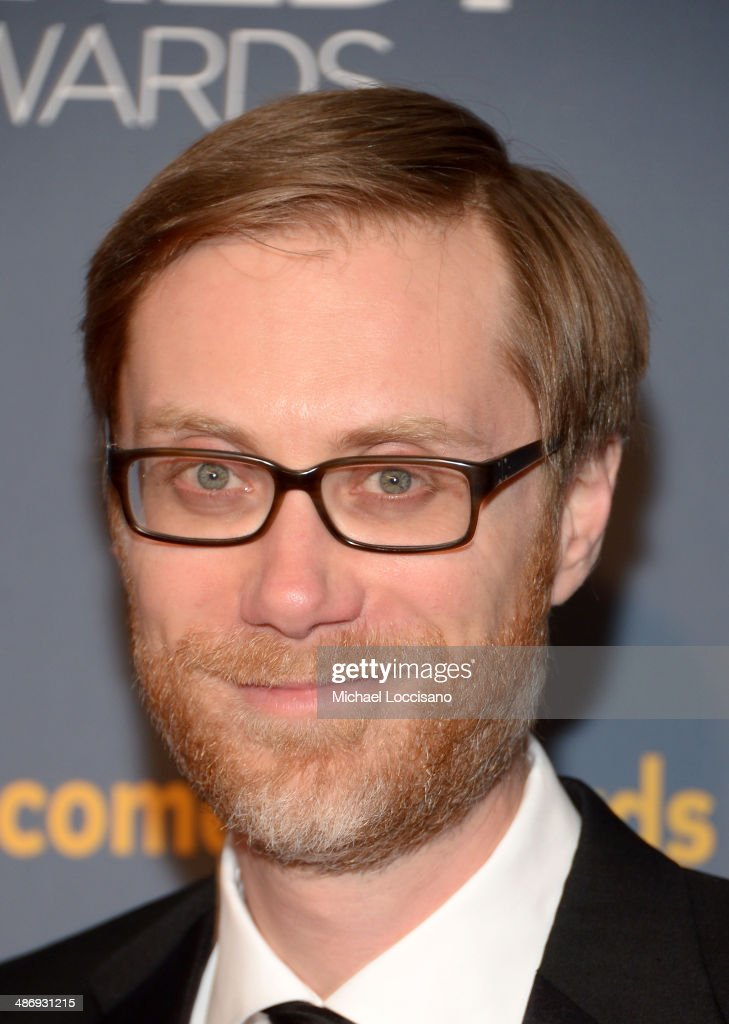 Writer <a gi-track='captionPersonalityLinkClicked' href=/galleries/search?phrase=Stephen+Merchant&family=editorial&specificpeople=646779 ng-click='$event.stopPropagation()'>Stephen Merchant</a> attends 2014 American Comedy Awards at Hammerstein Ballroom on April 26, 2014 in New York City.