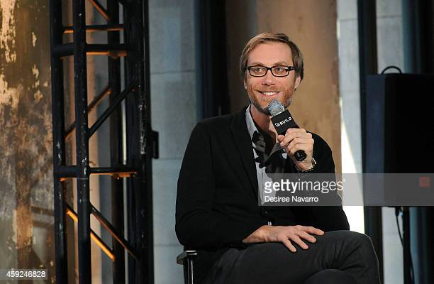 Writer Stephen Merchant attends AOL's BUILD Speaker Series Presents In Conversation With Stephen Merchant at AOL Studios in New York on November 19...