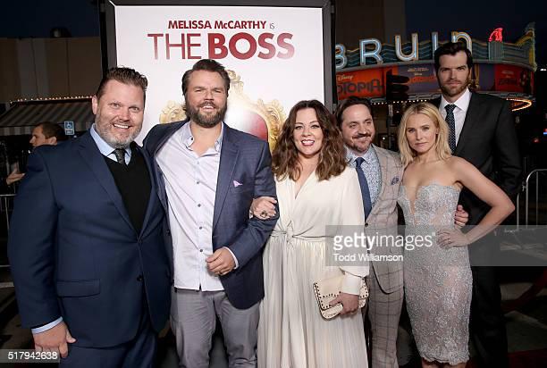Writer Steve Mallory actor Tyler Labine actress/writer/executive producer Melissa McCarthy writer/director/executive producer Ben Falcone actors...