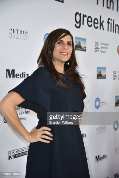 Writer / storyboard artist / voice actress Aliki Theofilopoulos Grafft attends the opening night of the 11th Annual Los Angeles Greek Film Festival...