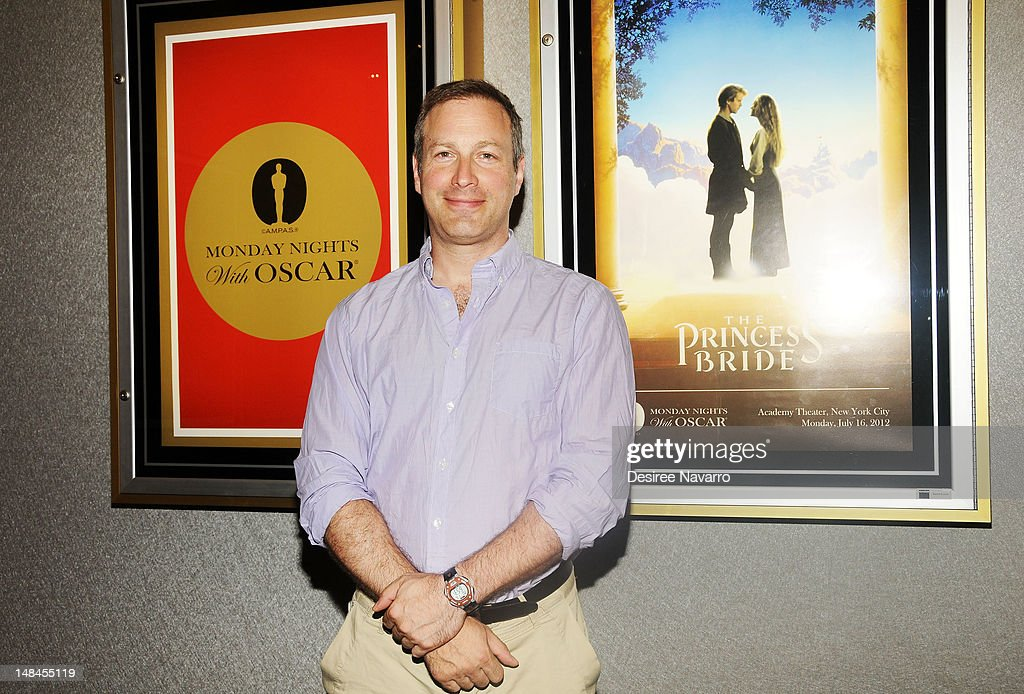 Writer Stuart Blumberg attends the Academy of Motion Picture Arts Sciences screening of 'The Princess Bride' at The Academy Theater on July 16 2012...
